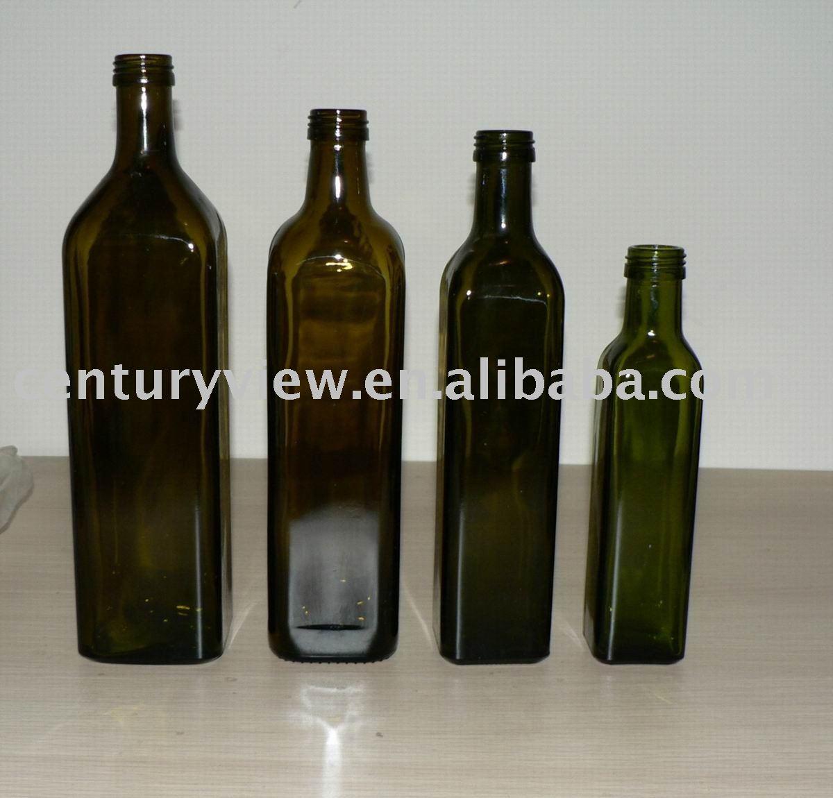 Glass Olive Oil Bottle 250ml,500ml,750ml,1000ml