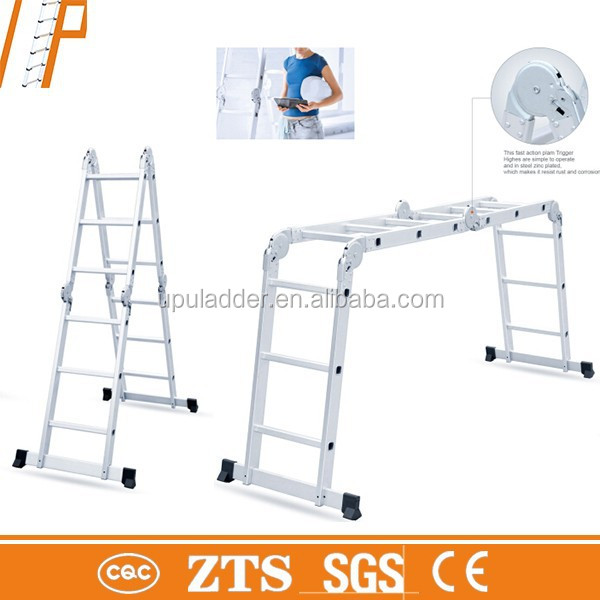 Hot china products wholesale bridge work platform ladder