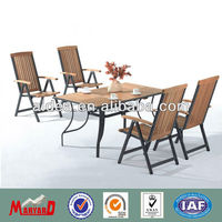 Outdoor Wooden furniture teak table and chair MY13TA05