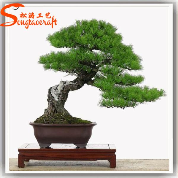 new design artificial pine tree japanese bonsai trees. Black Bedroom Furniture Sets. Home Design Ideas