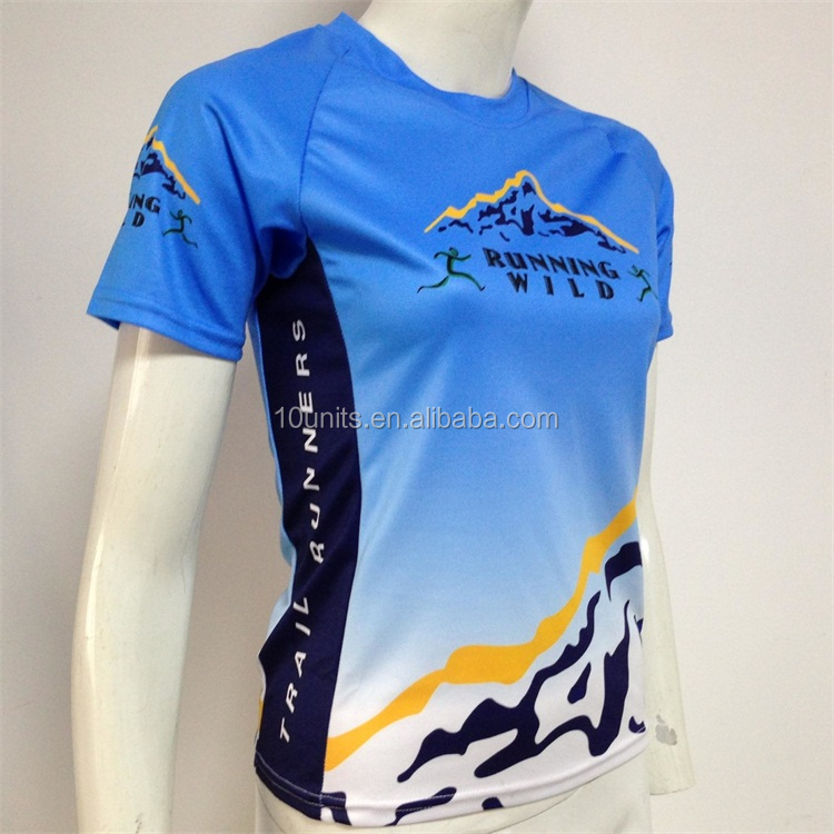 Custom long sleeved running t shirt/sport wear for men and women