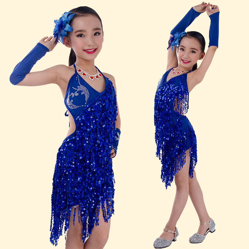 0bd9af8ee Buy New style latin performance wear girl latin dance costume ...