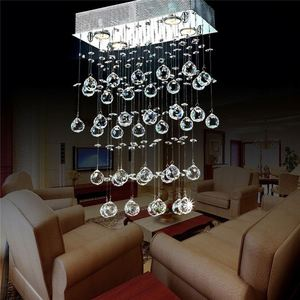 Metal Ceiling Pendant Lights Modern Led China Factory Outlets Chandeliers & Coloured Cord Crystal Chandelier