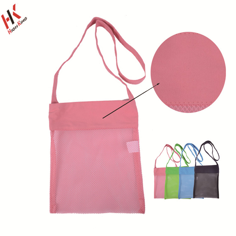 Wholesale Mesh Beach Bag Amazon Baby Toy Collection Cotton Net Bag