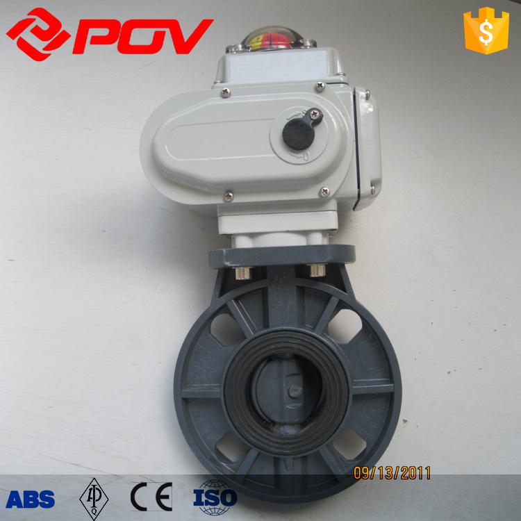 Pvc motor betrieben absperrklappe preis ventil produkt id for Motor operated butterfly valve