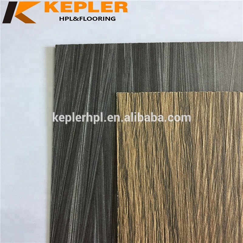 Factory directly professional high pressure colored hpl formica laminated wooden grain hpl sheets
