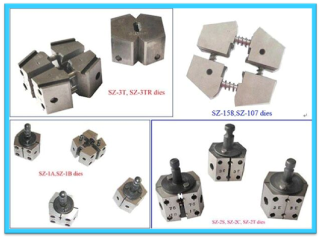 Sz-2t Desktop Mini Wire And Cable Machinery To Weld Copper Aluminum ...