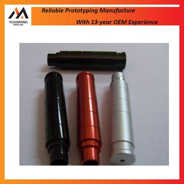 Anodized Aluminum Automotive Parts : Black anodized cnc machining aluminum parts oxidizing