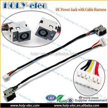 Pleasing 6 Pin Connector Dc Power Jack Cable Wire For Hp Dv5 Dv6 G61 Series Wiring 101 Israstreekradiomeanderfmnl