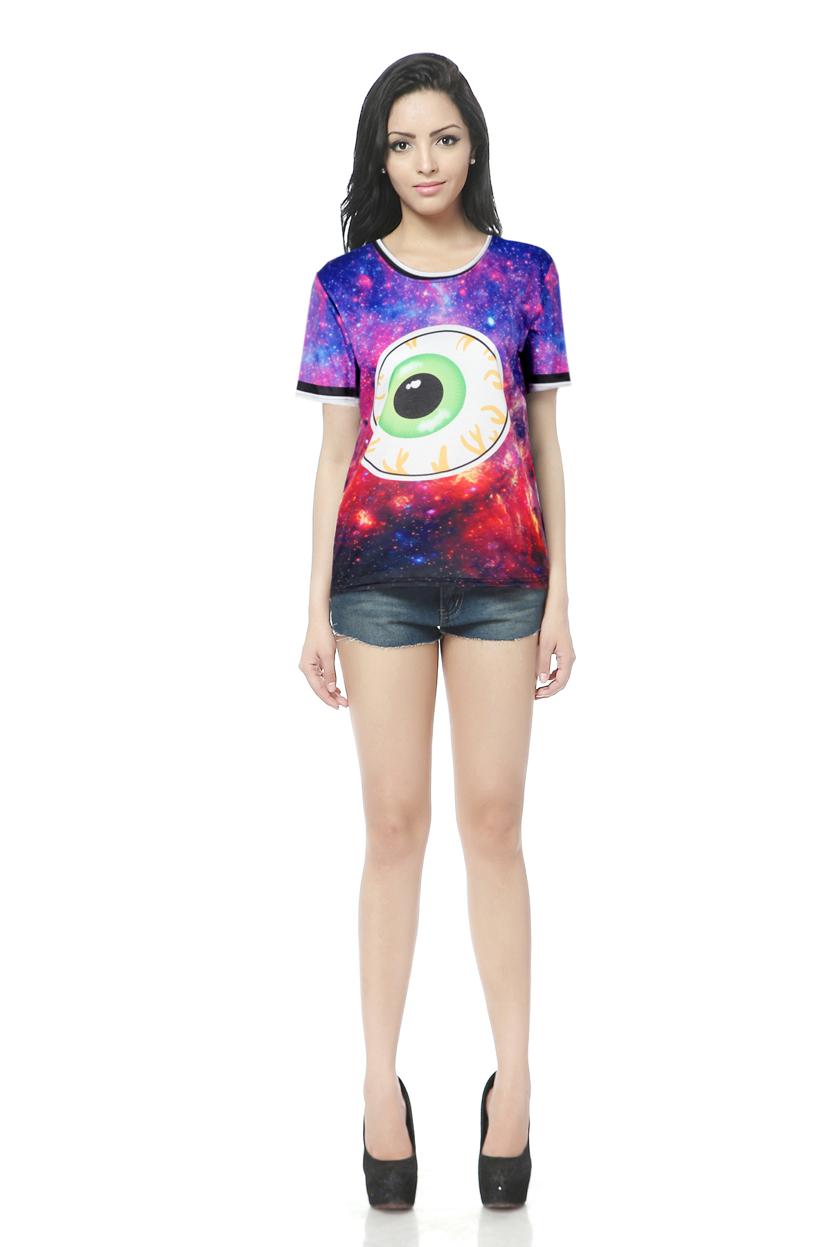 Sublimation print custom printed t shirts no minimum buy for Customized t shirts no minimum order