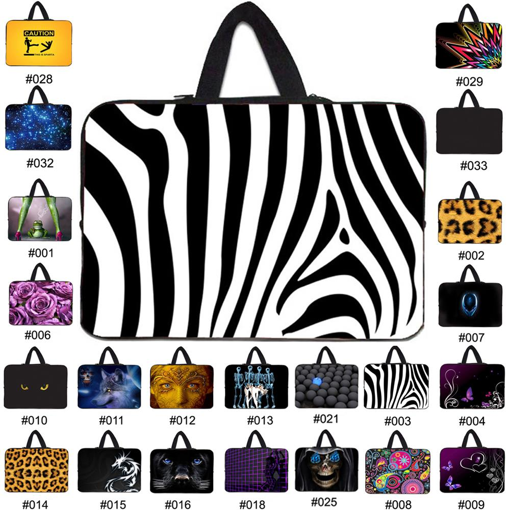 fashion 7 10 12 13 15 17 inch sleeve case carry handbag for laptop tablets notebook