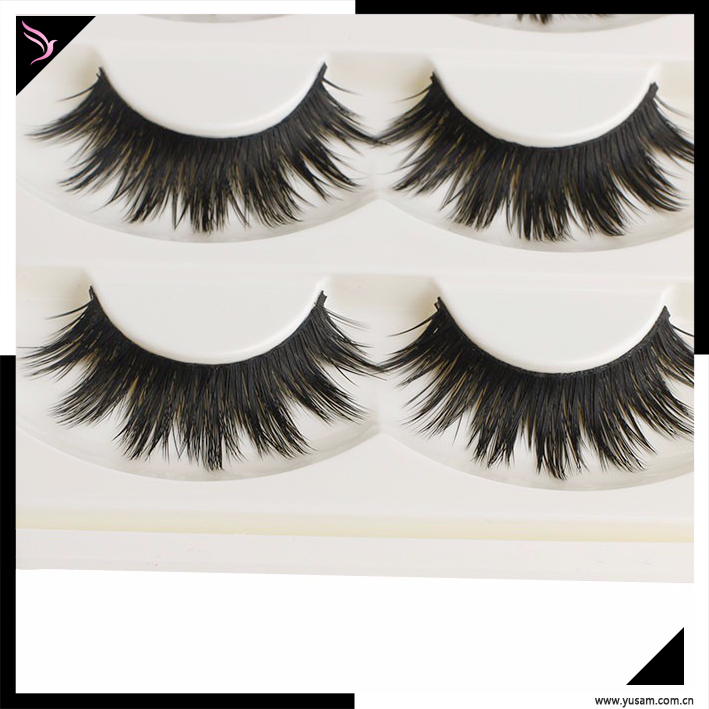 Wholesale 2017 lovely 5 Pairs eye lashes false eyelash