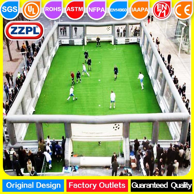 ZZPL Professional Inflatable Football Field for rental, New Inflatable Soccer Field for sale