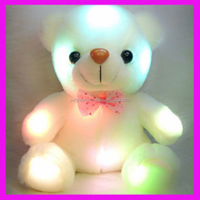 2016 Quality Factory Diect Wholesale Cheap Fashion Led Toy Plush Teddy LED Flashing Bear