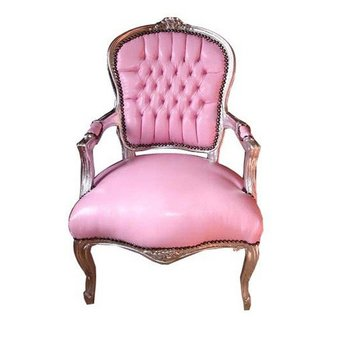 Enjoyable Shabby Chic Pink Faux Leather Chair Buy Shabby Chic Product On Alibaba Com Machost Co Dining Chair Design Ideas Machostcouk