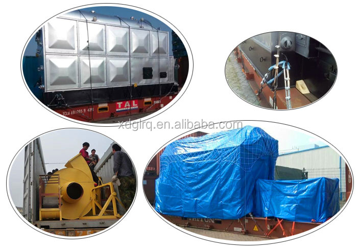10 Kg 1.0 Mpa 10 Bar 1 Ton Coal Fired Steam Boiler With Hand ...