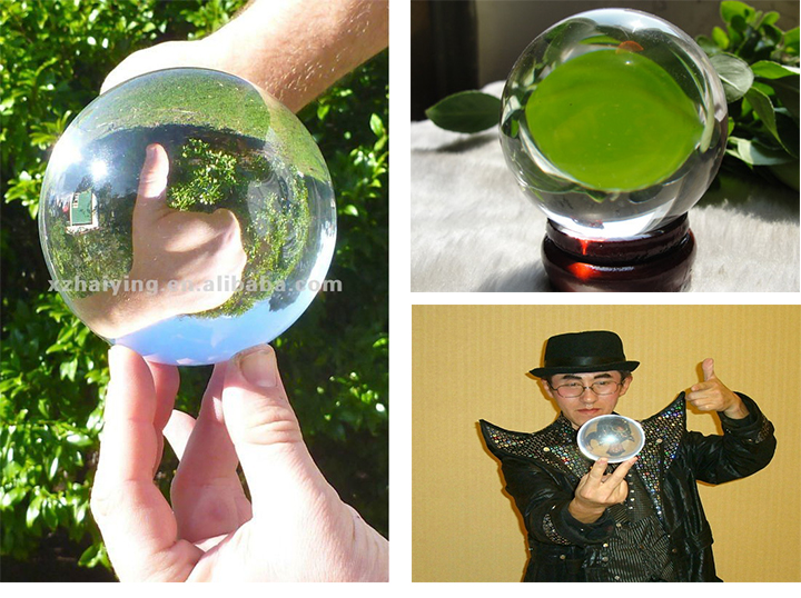 Juggling Ball Type and Sports Toy Style large acrylic ball