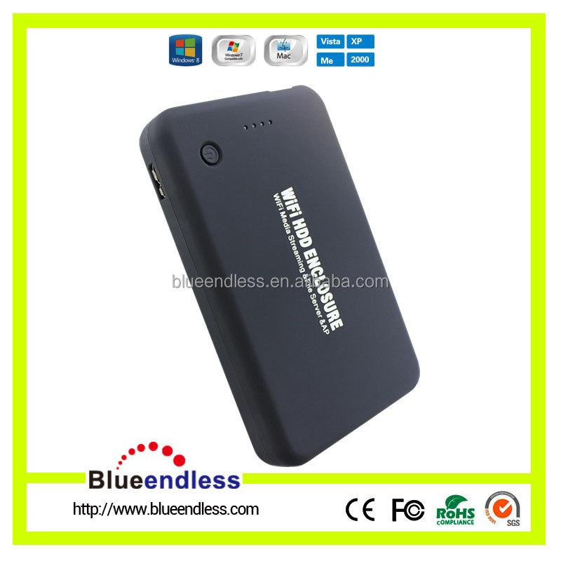 Blueendless 2.5 Lan Sata Hdd Enclosure,Wireless Usb 3.0 Sata Wifi ...