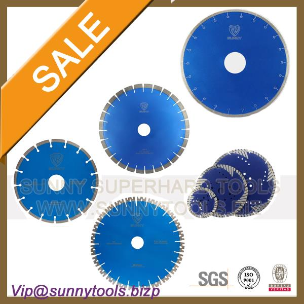 14''/350mm Laser Weld Diamond Saw Blades for Concrete Cutting