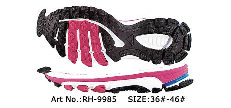 Alibaba Anti-slip Eva Sport Gum Rubber Outsole Colorful Running ...