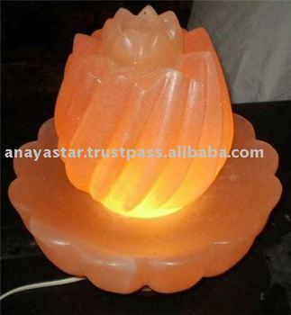 Himalayan Lotus Salt Lamp/Rock Salt Flowers/Natural Salt Rocks