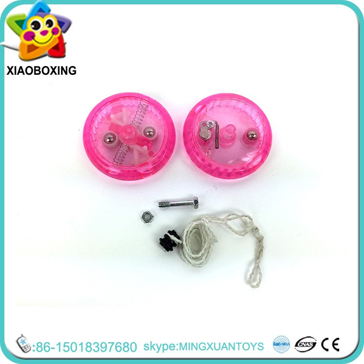 New style plastic oem china yo yo toys factory jojo with light