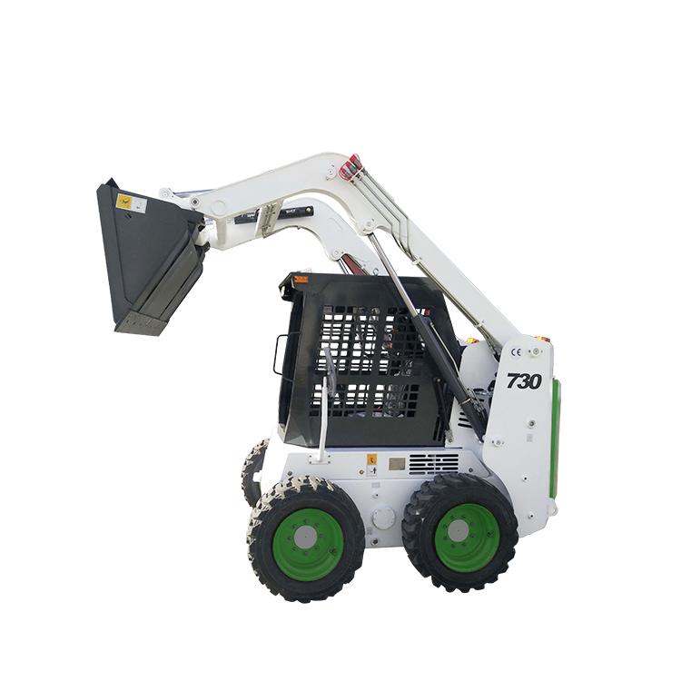 Мини-погрузчик с бортовым поворотом для строительной техники