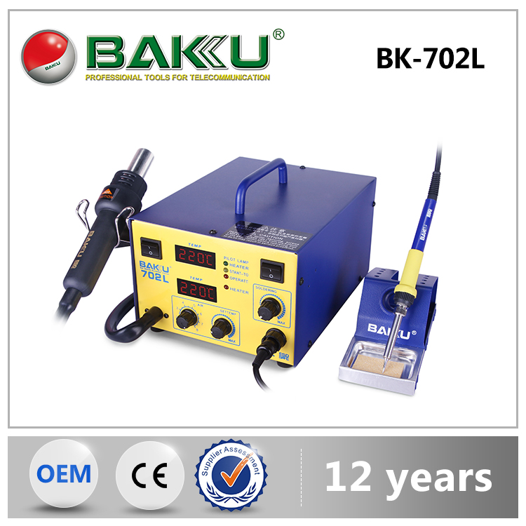 BAKU Factory Outlets Center Cool Design Top Heater Temperature Controlled Soldering Station BK 702L