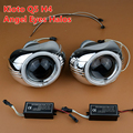 New Car Styling Q5 HID Bi xenon Lens Headlight Projector W CCFL Angel Eyes Halo H4
