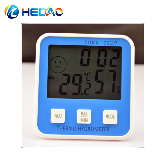 Best Accuracy Digital thermo hygrometer DC-107 - KingCare | KingCare.net