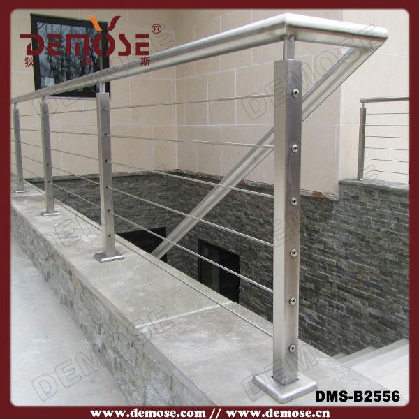 de metal al aire libre terraza de escaleras barandas para la venta