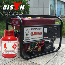 BISON(CHINA) Gas Power 2kw CNG Power Generator Compressed Natural Gas CNG Generator
