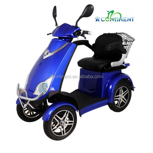 2017 hot sale 4 wheeler passenger electric tricycle for sale