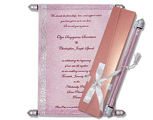 Cheap Scroll Type Invitations Find Scroll Type Invitations Deals On