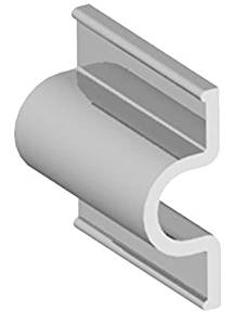 Taylor Made Products 46053 Dock Pro Heavy Duty Double Molded Profile Vinyl Marine Dock Edging