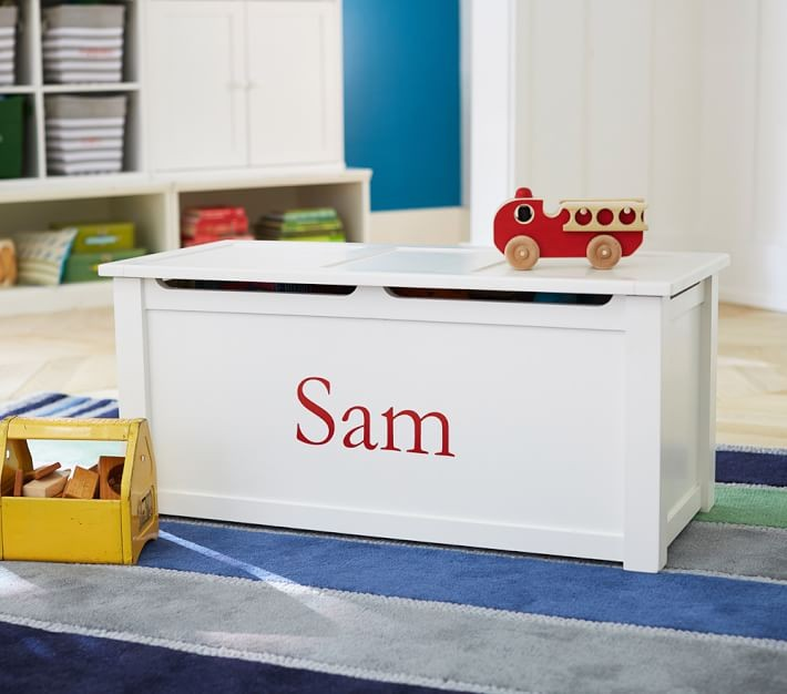 Children And Kids Playroom Furniture Toy Box Storage And