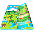 2 1 8m Kids Double Side Play Mat Children Rug Crawling Carpet Playmat Puzzle Gym Foam