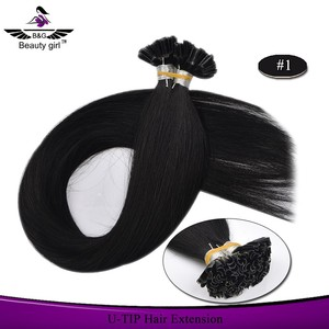 Top quality grade 9a virgin hair vavz u tip hair extensions