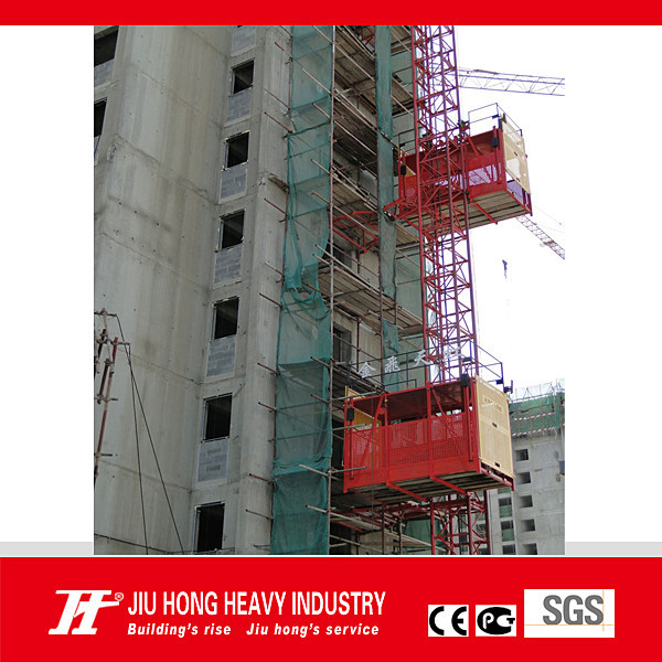 SS100/100 lift elevator/construction material elevator/cheap price of freight elevator