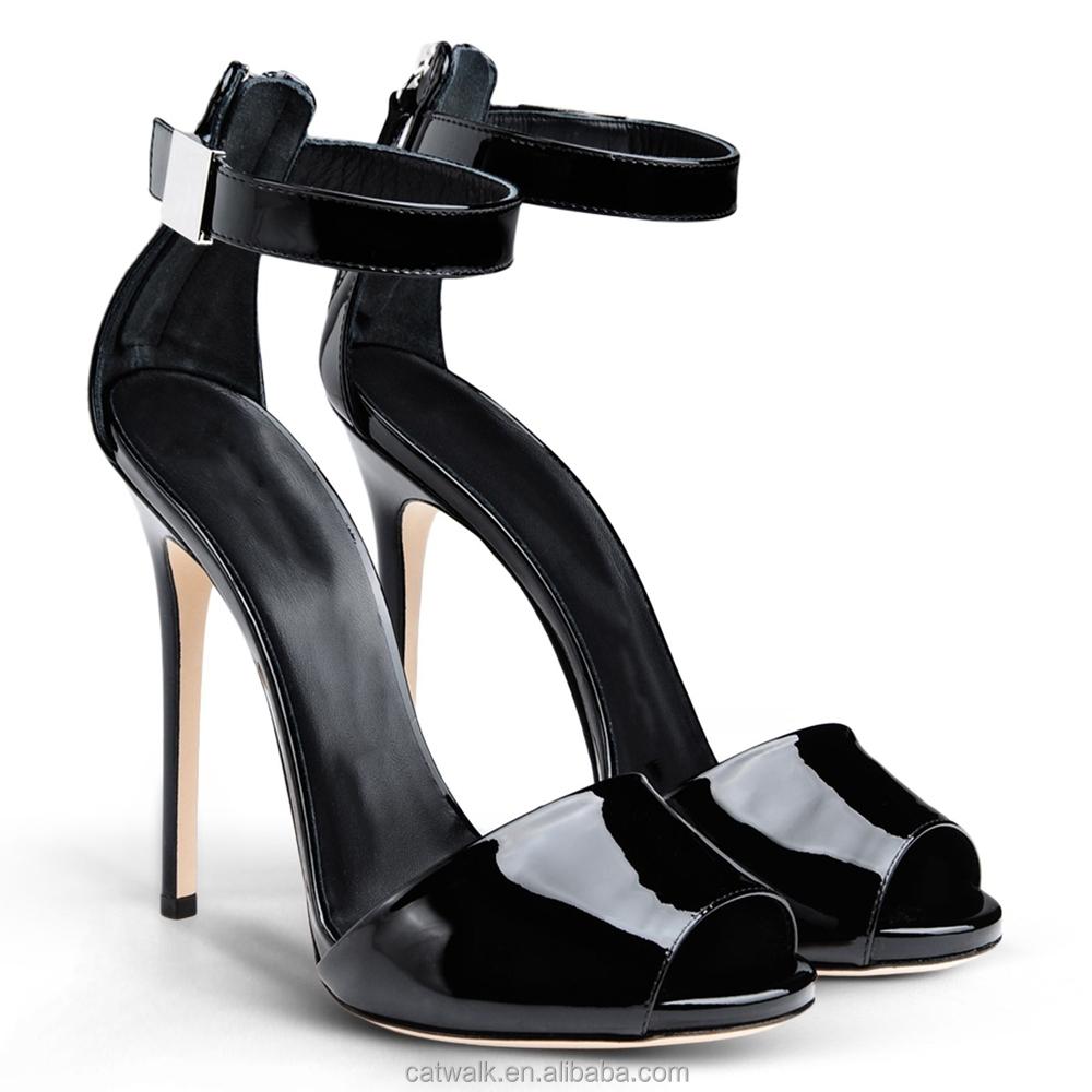 Black Fancy Heels