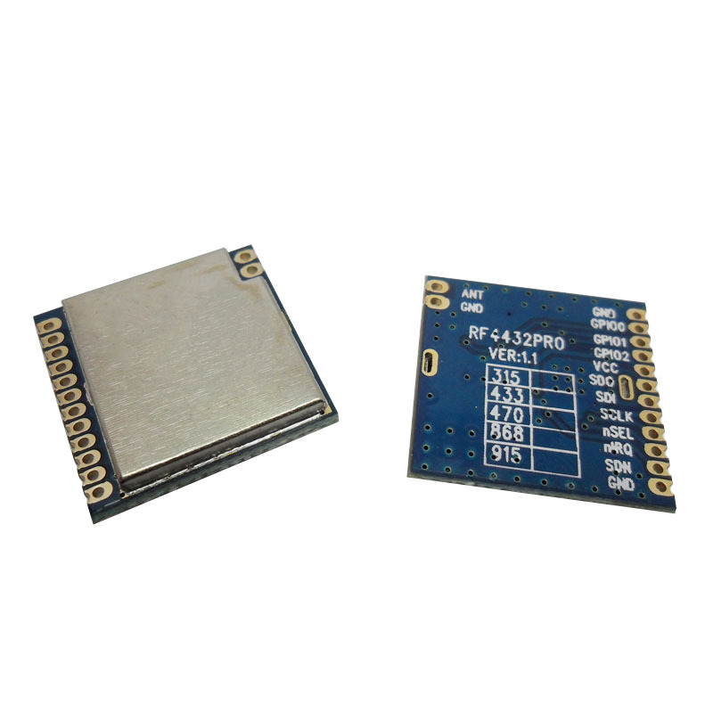 G-NiceRF 1.4km long distance SPI port 433.92mhz wireless rf transmitter receiver module RF4432PRO