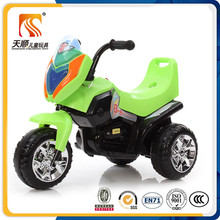 Three wheel rechargeable battery operated child electric motorcycle
