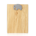 a4/a5 clipboard folder paper clip board small magnet bamboo texture notebook clipboard
