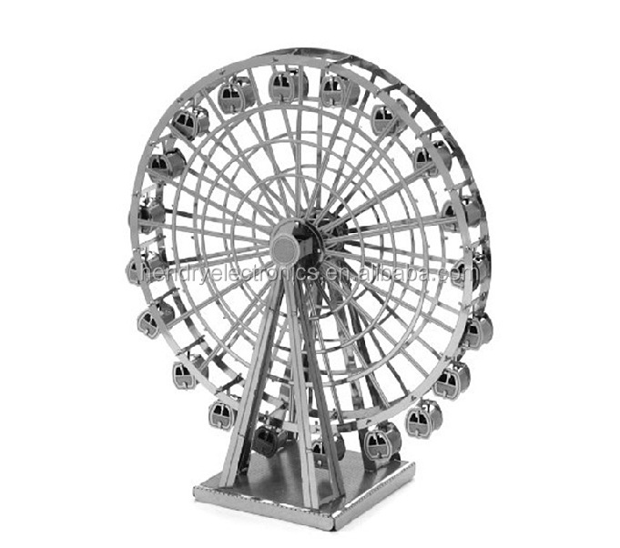 Educational toys Ferris Wheel 3D Puzzle DIY 3D metal Toy
