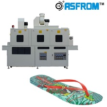 Double Side UV Ultraviolet Irradiation machine for EVA/MODE outsole assembling UV light treatment make outsole adhesive