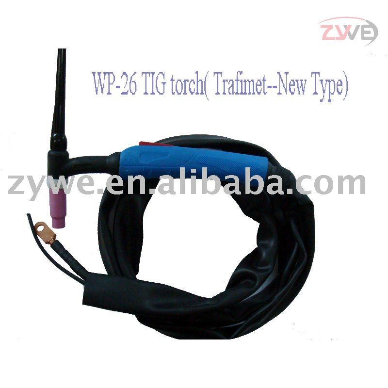 Air Cooled Blue Handle Trafimet Type Welding Tig Torch(WP-26)