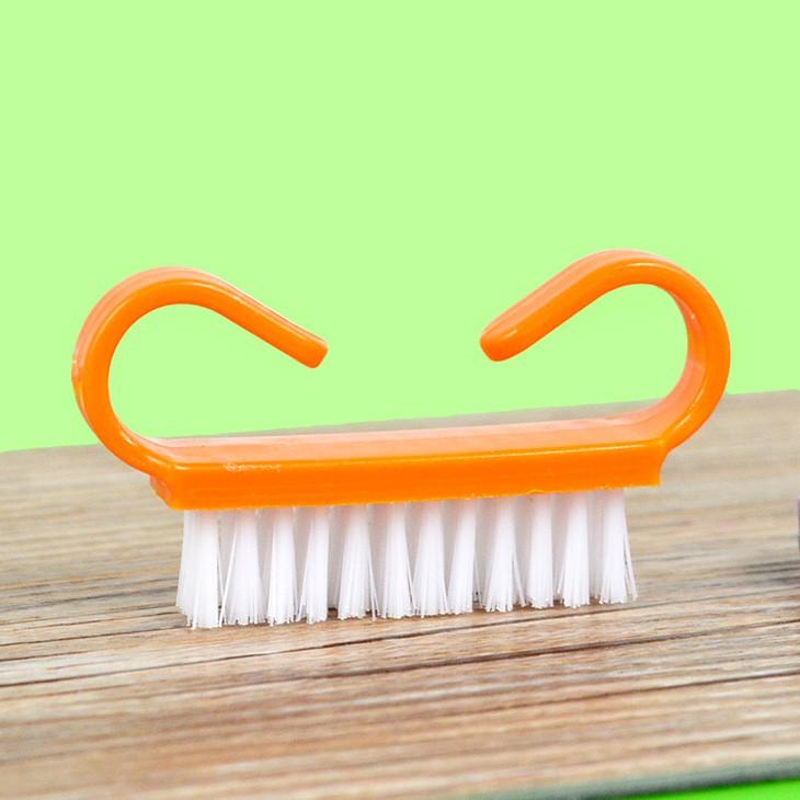 Diseño Especial Venta caliente de plástico cepillo de uñas/manicura ...