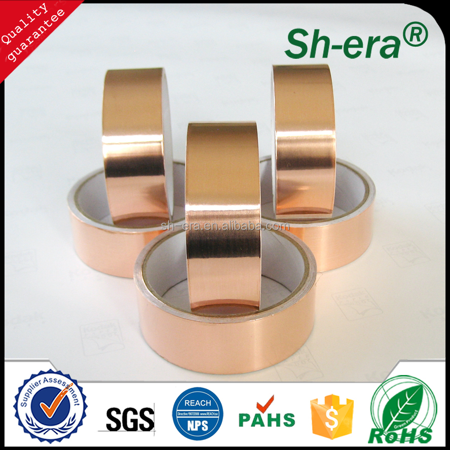 Hot sale Copper foil rolled tape for electrical use on alibaba
