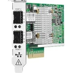 "Hp, Storefabric Cn1100r Dual Port Converged Network Adapter Network Adapter Pci Express 2.0 X8 10Gb Ethernet X 2 For Proliant Dl320e Gen8, Dl360p Gen8, Dl380p Gen8, Dl385p Gen8, Ml350e Gen8, Ml350p Gen8 ""Product Category: Networking/Gigabit Ethernet"""