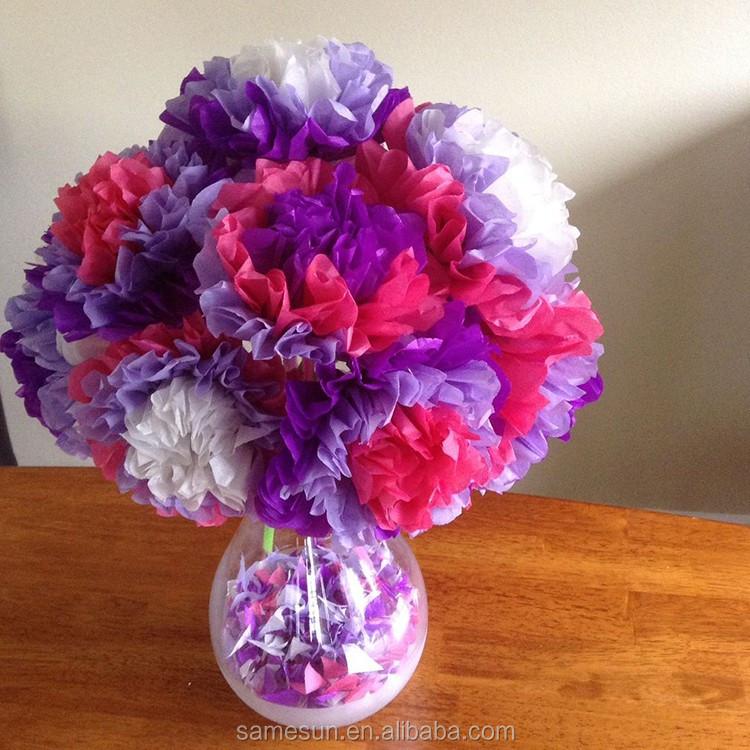Beautiful Artificial Tissue Paper Flowers For Vase Decoration ...